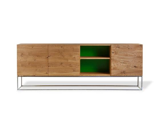 KUUB Anrichte mit Regaleinsatz by Form exclusiv   Sideboards