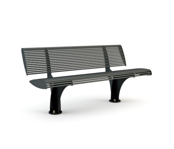Zebra Fixed Bench de Bellitalia | Bancs publics