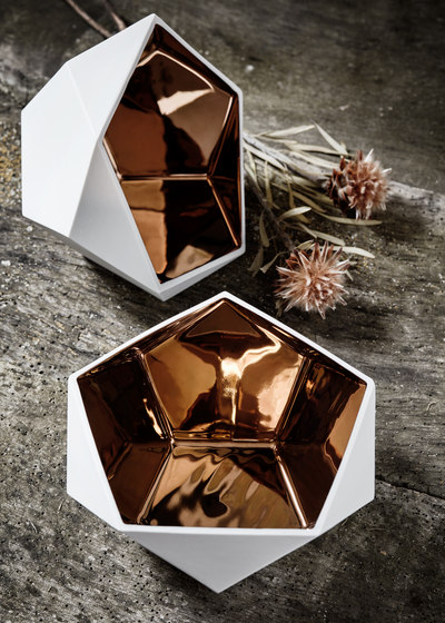 Ceramics | KYA copper by Raum B | Bowls