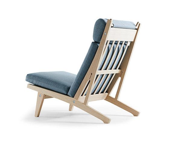 GE 375 High Back Easy Chair di Getama Danmark | Poltrone