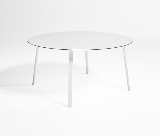 Stack Table Haute Circulaire de GANDIABLASCO | Tables de repas