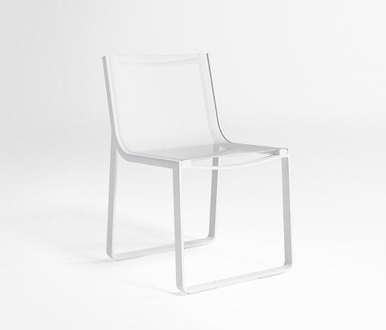 Flat Textil Chaise sans Bras de GANDIABLASCO | Sièges de jardin