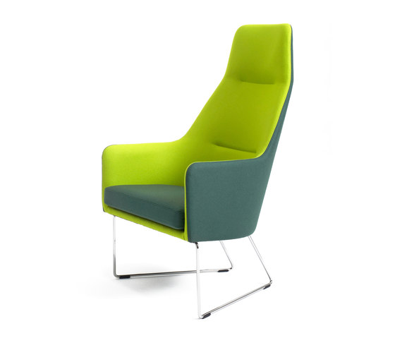 1201 Easy chair high back di Getama Danmark | Poltrone lounge