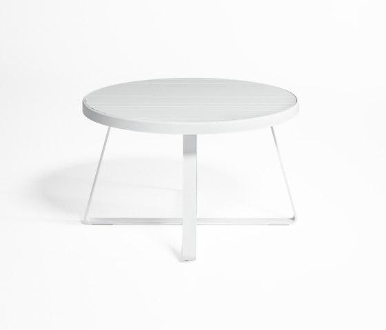 flat hoher runder tisch garten esstische von. Black Bedroom Furniture Sets. Home Design Ideas