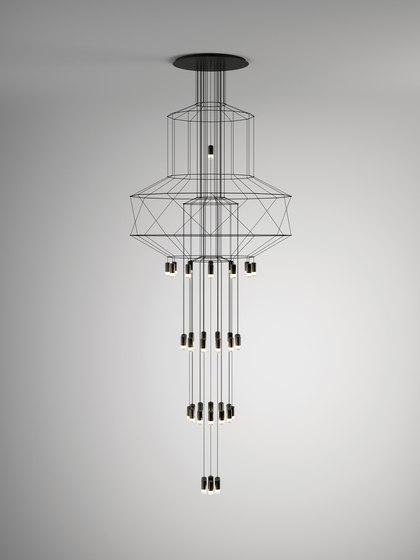 Wireflow Chandelier di Vibia | Lampade sospensione