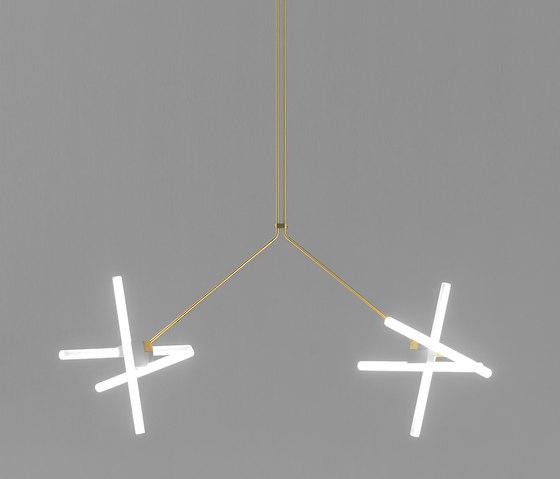 Olvidada lamp - double di BD Barcelona | Lampade sospensione
