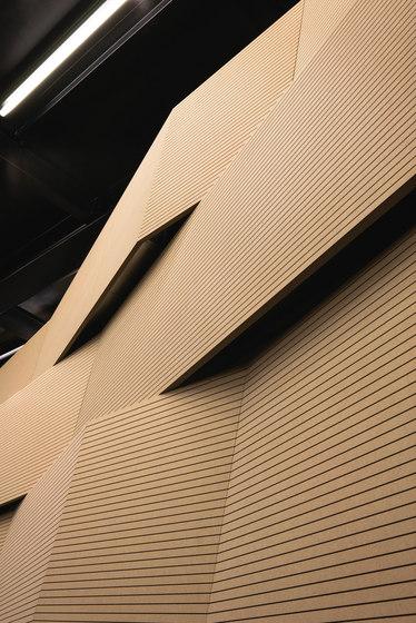 Mywall de Fantoni | Systèmes muraux absorption acoustique