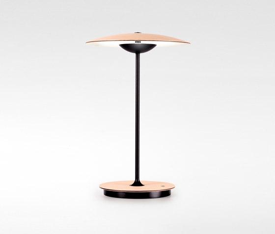 Ginger Portable Oak by Marset | Table lights