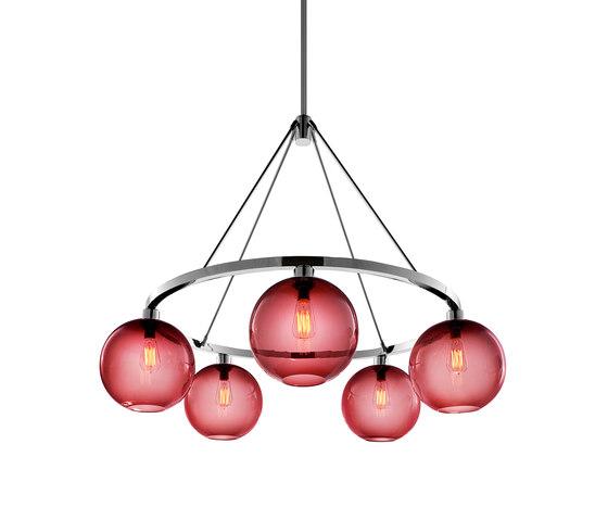 Solitaire Modern Chandelier de Niche | Lámparas de araña