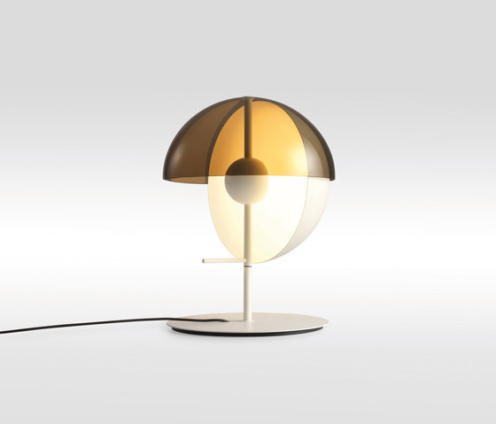 Theia S White de Marset | Luminaires de table