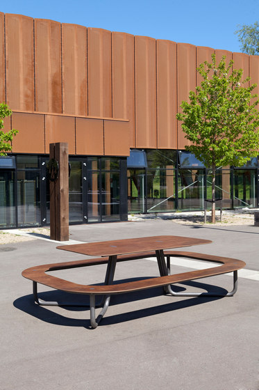 Plateau-O #177 by out-sider   Tables and benches