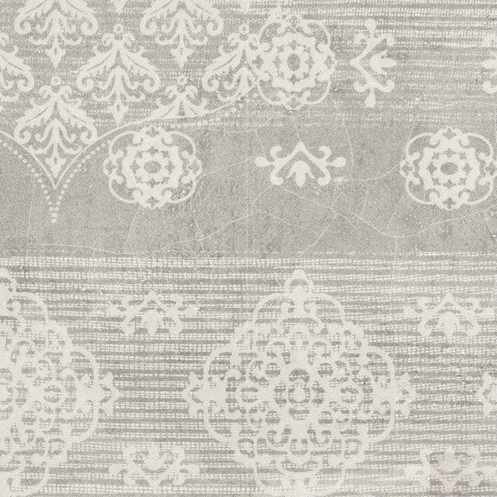 Gesso Decoro Patchwork Pearl Grey by EMILGROUP | Ceramic tiles