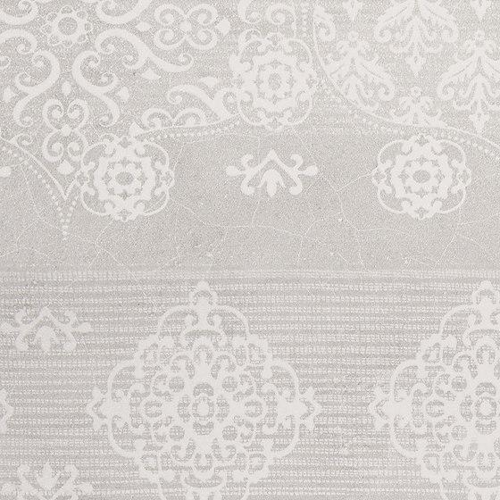 Gesso Decoro Patchwork Natural White von EMILGROUP | Keramik Fliesen