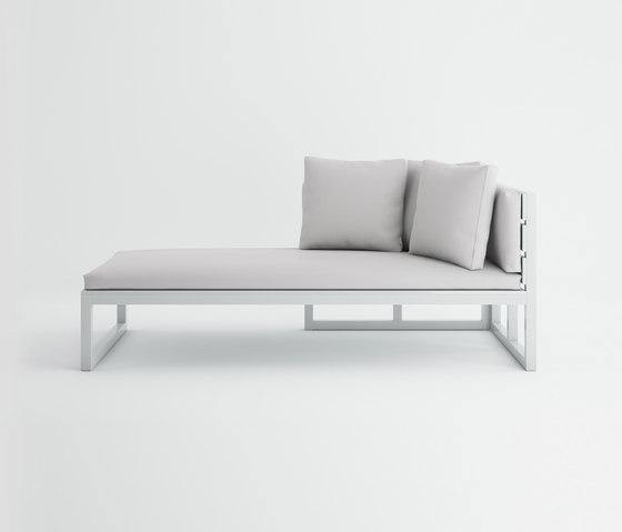 Saler Modular Sofa 2 by GANDIABLASCO | Sun loungers