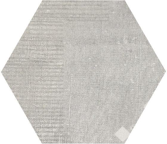Gesso Esagona Patchwork Pearl Grey von EMILGROUP   Keramik Mosaike