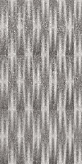 Metal.It Decoro Twist Black Nickel von EMILGROUP | Keramik Fliesen