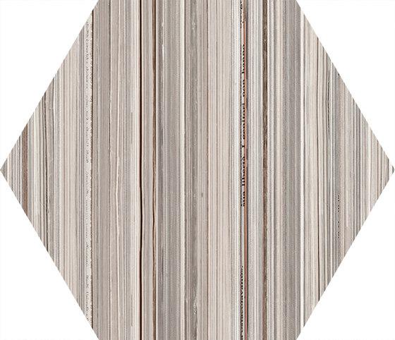 +3 Paper Esagona Bianco di EMILGROUP | Piastrelle ceramica