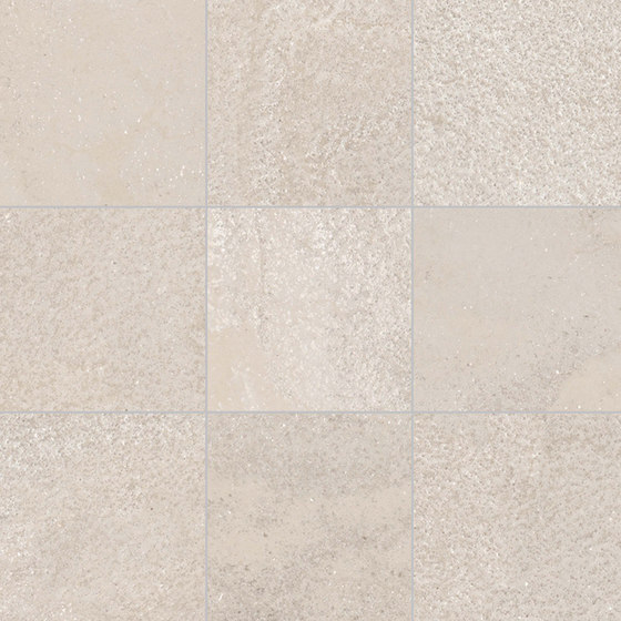 +3 Mosaico 10x10 Bianco di EMILGROUP | Mosaici ceramica