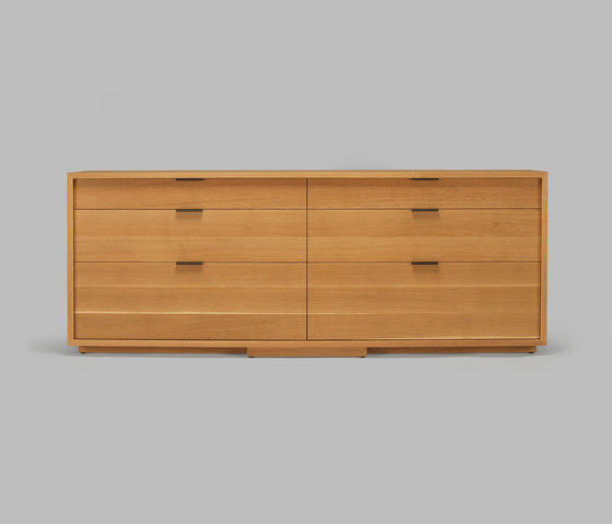 lineground 6-drawer horizontal bureau by Skram | Sideboards