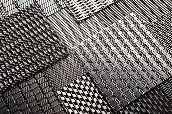 Linq Woven Metal by Forms+Surfaces® | Metal sheets