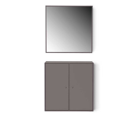 Montana Shelving System | Composition example by Montana Furniture | Mirrors