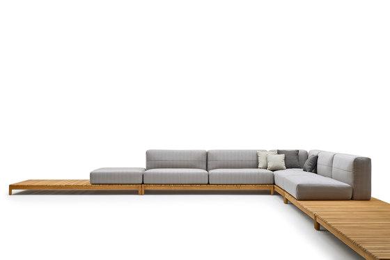 Barcode modular sofa by Varaschin | Garden sofas