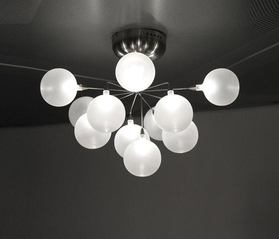 Cluster ceiling-/wall lamp 11 de HARCO LOOR | Lámparas de pared
