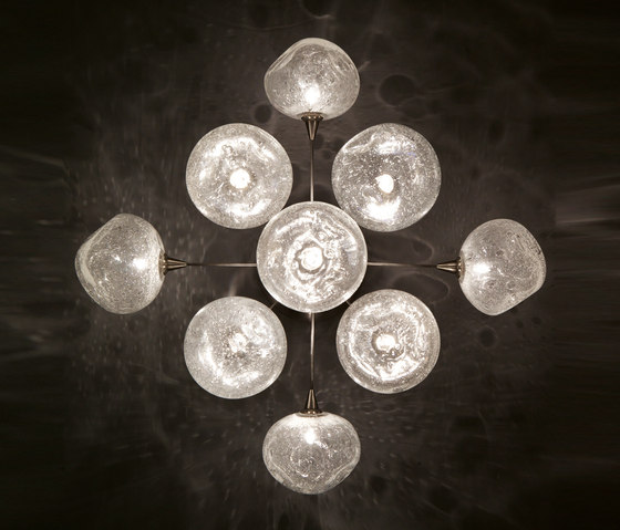 Meteor – Large ceiling-/wall lamp 6 de HARCO LOOR | Lámparas de pared