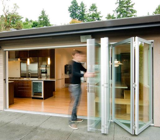 Folding Doors - Aluminum Thermally Controlled | Build LLC Innis Arden by LaCantina Doors | Patio doors
