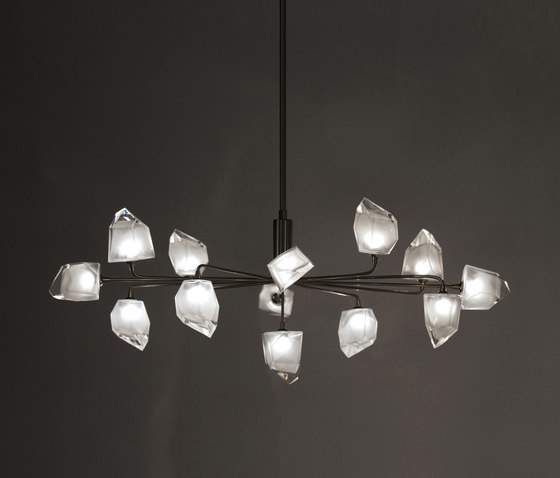Rock – Large pendant 13 by HARCO LOOR | Suspended lights