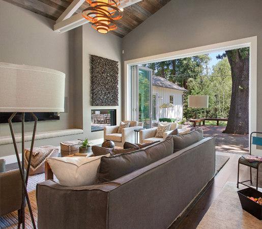 ... Folding Doors - Aluminum Wood | Alamo Farmhouse by LaCantina Doors | French doors & FOLDING DOORS - ALUMINUM WOOD | ALAMO FARMHOUSE - French doors from ...