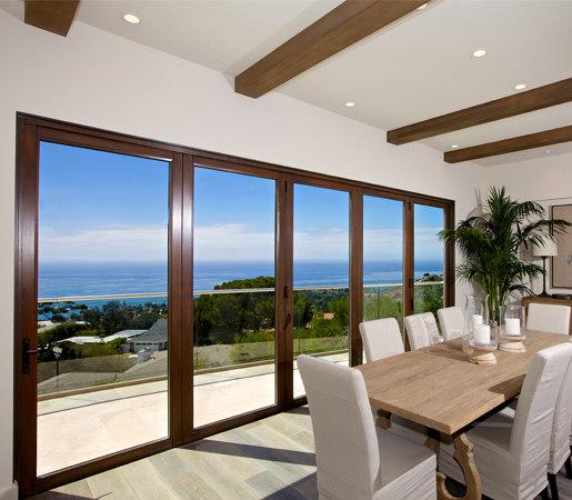 Folding Doors - Contemporary Clad | Chamnez de LaCantina Doors | Puertas patio