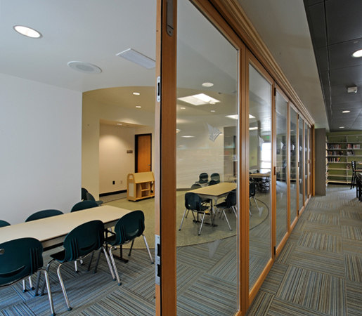 folding doors wood carlsbad library partitions lacantina doors