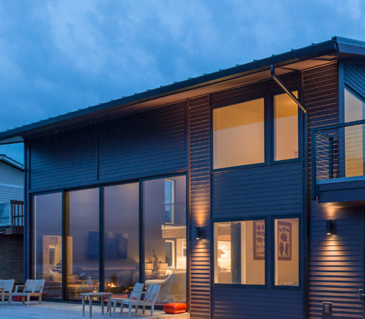 Multi-Slide Doors - Aluminum | Island Beach House by LaCantina Doors | Internal doors