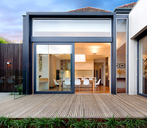 Multi-Slide Doors - Aluminum Wood | Malvern de LaCantina Doors | Puertas de interior