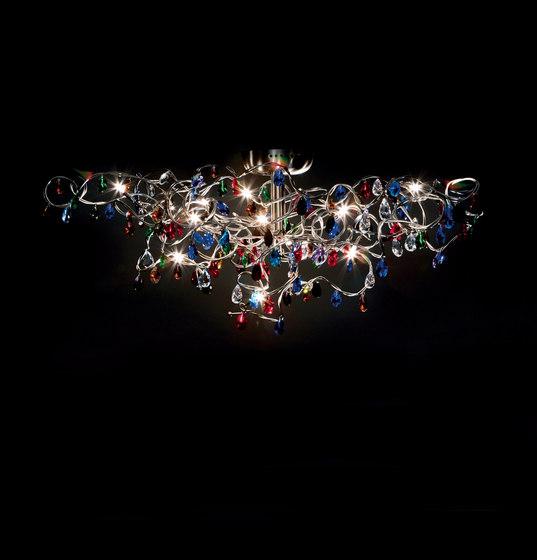 Tiara Deckenleuchte 15-multicolor von HARCO LOOR | Deckenleuchten