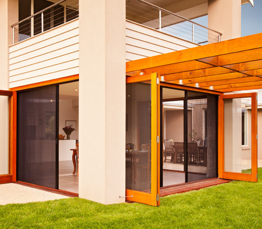 Screening & Blind Solutions - Pleated | Sand by LaCantina Doors | Patio doors