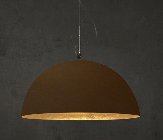 Mezza Luna bronze/or de IN-ES.ARTDESIGN | Suspensions
