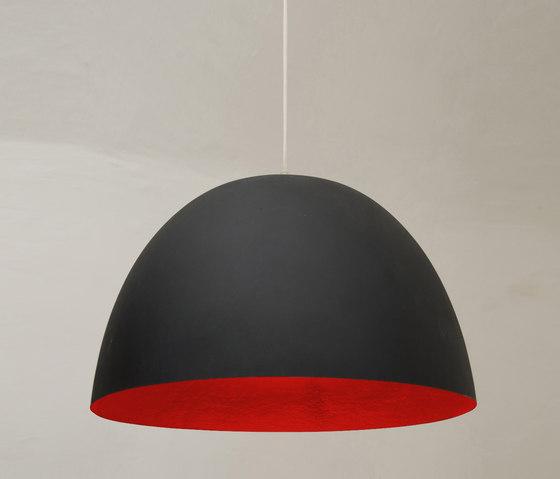 H2O noir/rouge de IN-ES.ARTDESIGN | Suspensions