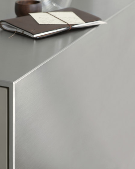 b3 monoblock in stainless steel by bulthaup | Fitted kitchens