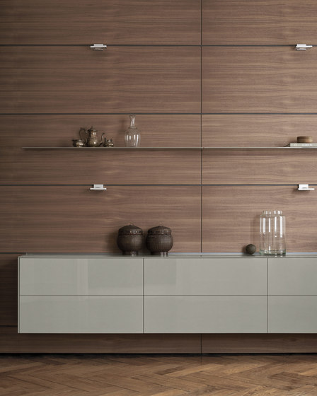 b3 Multi-function wall by bulthaup | Kitchen organization