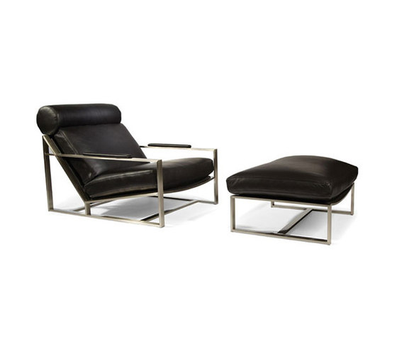 Cruisin' Lounge Chair & Ottoman by Cliff Young | Armchairs
