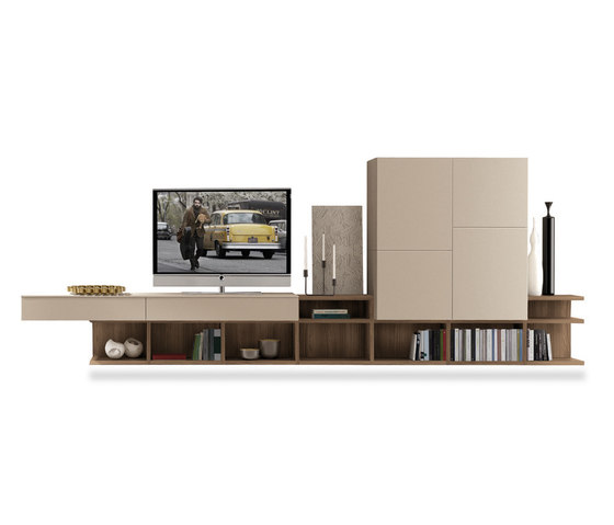 Z508 Link System by Zalf | Wall storage systems