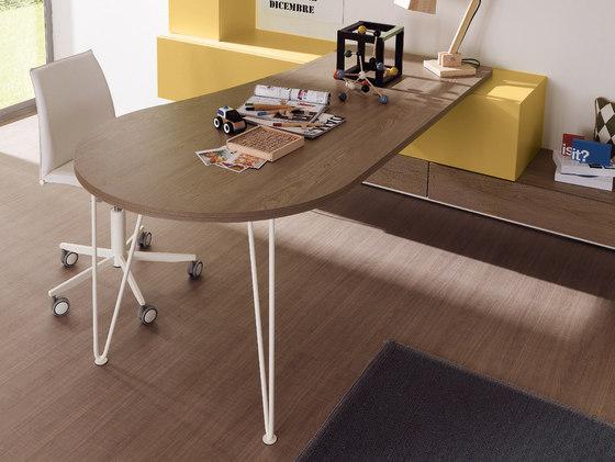 Stelo Scrittoio by Zalf | Kids tables