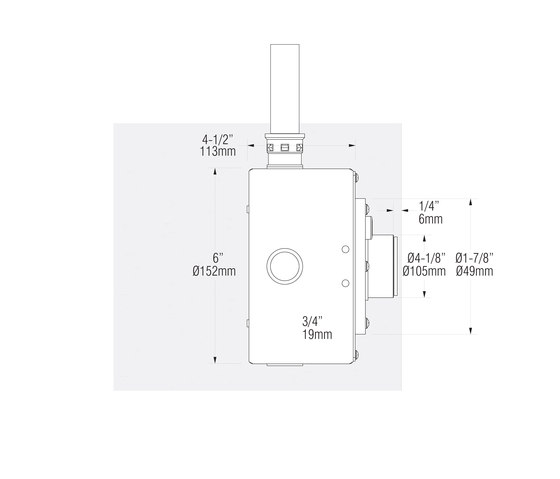 L03 | stainless steel by MP Lighting | Recessed wall lights