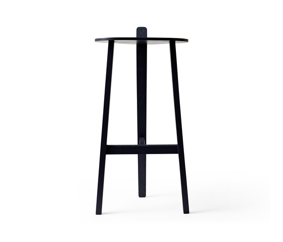 Bronco Bar Stool black de Karakter Copenhagen | Taburetes de bar