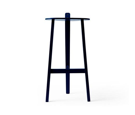 Bronco Bar Stool black blue by Karakter Copenhagen | Bar stools