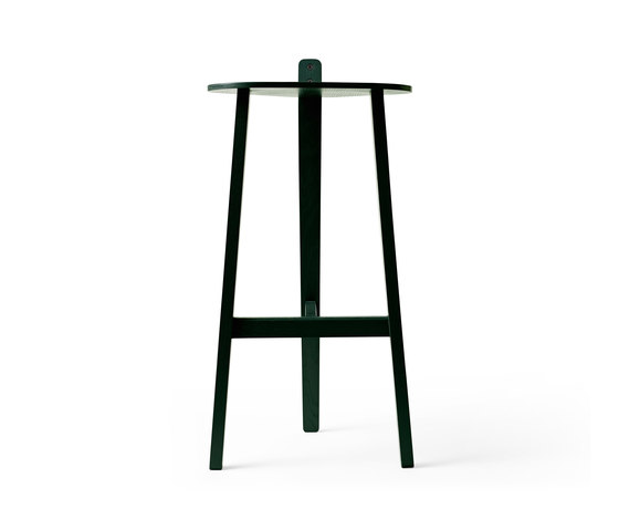 Bronco Bar Stool copenhagen green by Karakter   Bar stools