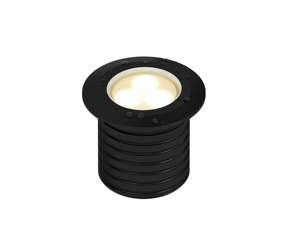 L05 | black anodized di MP Lighting | Lampade parete incasso