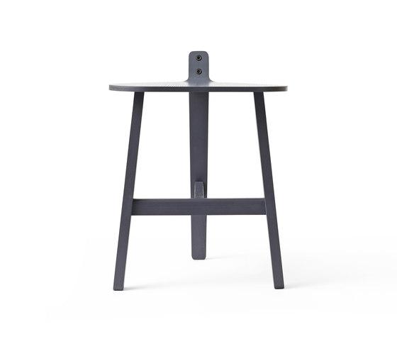 Bronco Stool grey di Karakter Copenhagen | Sgabelli